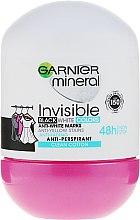 Düfte, Parfümerie und Kosmetik Deo Roll-on Antitranspirant - Garnier Invisible Black White Colors