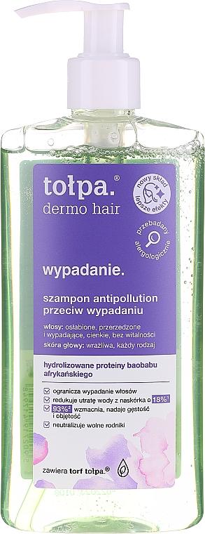 Shampoo gegen Haarausfall mit afrikanischem Affenbrotbaumprotein - Tolpa Dermo Hair Anti Hairloss Shampoo