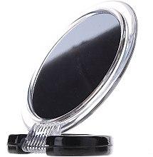 Düfte, Parfümerie und Kosmetik Kosmetikspiegel mit Ständer 5053 schwarz - Top Choice