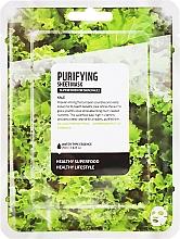 Düfte, Parfümerie und Kosmetik Tiefenreinigende Tuchmaske mit Grünkohl-Extrakt - Farmskin Superfood For Skin Purifying Sheet Mask