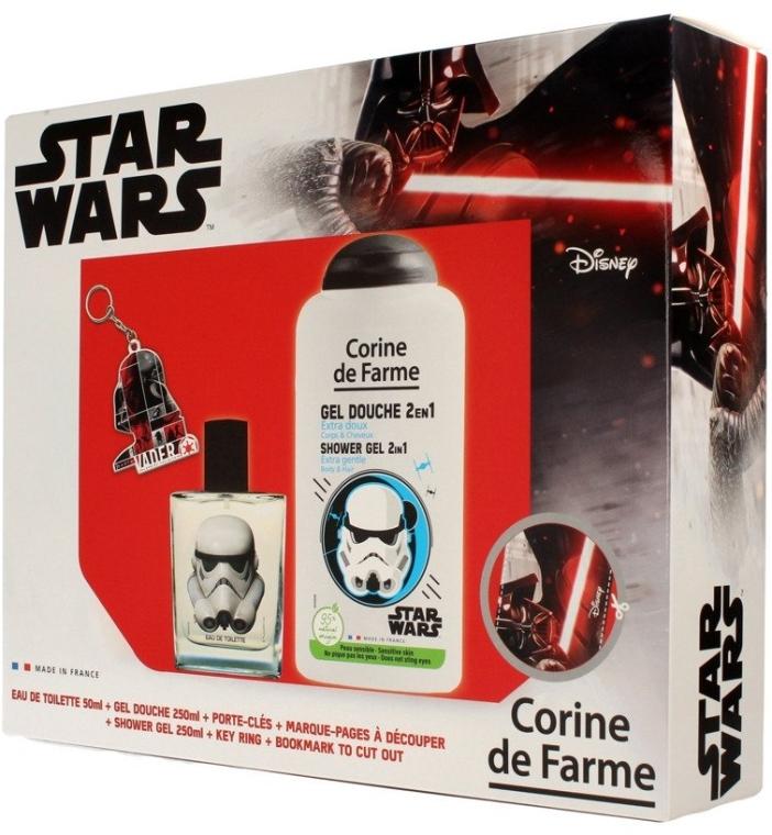Corine de Farme Star Wars - Duftset (Eau de Toilette 50ml + Duschgel 250ml + Accessories)