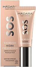 Düfte, Parfümerie und Kosmetik Creme-Maske für die Augenpartie - Madara Cosmetics SOS Eye Revive Hydra Cream & Mask
