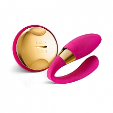 Düfte, Parfümerie und Kosmetik U-förmiger Paarvibrator mit Fernbedienung rosa - Lelo Tiani 24k Hot Cerise