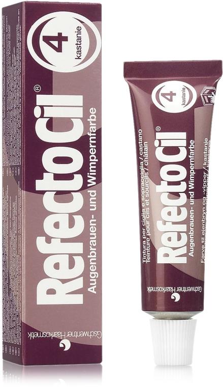 Augenbrauen- und Wimpernfarbe (ohne Entwicklerlotion) - RefectoCil Augenbrauen- und Wimpernfarbe