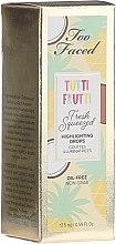 Düfte, Parfümerie und Kosmetik Flüssiger erfrischender Highlighter - Too Faced Fresh Squeezed Highlighter