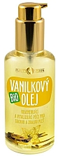 Düfte, Parfümerie und Kosmetik Regenerierendes und revitalisierendes Bio Vanilleöl für trockene und reife Haut - Purity Vision Bio