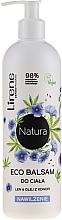 Düfte, Parfümerie und Kosmetik Feuchtigkeitsspendender Körperbalsam mit Flachs und Hanföl - Lirene Natura Eco Balm