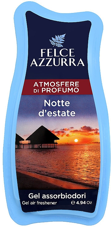 Raumduft-Gel Sommernacht - Felce Azzurra Gel Air Freshener Notte d'estate