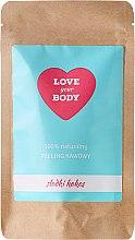 "Düfte, Parfümerie und Kosmetik Kaffee-Peeling für den Körper ""Süße Kokosnuss"" - Love Your Body Peeling"
