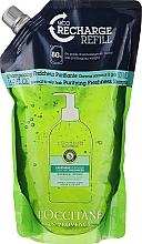 Düfte, Parfümerie und Kosmetik Erfrischendes Shampoo - L'Occitane Aromachologie Purifying Freshness Hair Shampoo (Doypack)