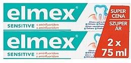 Düfte, Parfümerie und Kosmetik Zahnpflegeset - Elmex Sensitive Toothpaste (Zahnpasta 2x75ml)