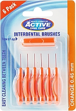 Düfte, Parfümerie und Kosmetik Interdentalzahnbürsten-Set 0,45 mm 6 St. - Beauty Formulas Active Oral Care Interdental Brushes