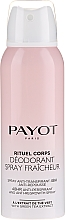 Düfte, Parfümerie und Kosmetik Deospray Antitranspirant - Payot Rituel Corps 48H Antiperspirant Alcohol Free
