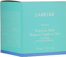 Düfte, Parfümerie und Kosmetik Gesichtsmaske mit Tonerde und Mineralien für alle Hauttypen - Laneige Mini Pore Waterclay Mask