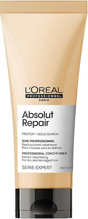 Haarspülung für geschädigtes Haar - L'Oreal Professionnel Absolut Repair Gold Quinoa +Protein Conditioner