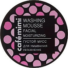 Düfte, Parfümerie und Kosmetik Feuchtigkeitsspendende Waschmousse für das Gesicht - Cafe Mimi Washing Mousse Facial Moisturizing