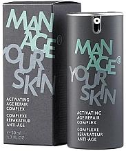 Düfte, Parfümerie und Kosmetik Festigende und revitalisierende Anti-Aging Gesichtscreme für trockene und empfindliche Haut - Dr. Spiller Manage Your Skin Activating Age Repair Complex