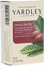 Düfte, Parfümerie und Kosmetik Aufweichende und feuchtigkeitsspendende Seife mit Kakaobutter, Sheabutter und Vitamin E - Yardley Cocoa Butter Soap
