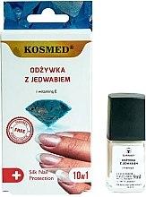 Düfte, Parfümerie und Kosmetik 10in1 Nagelconditioner mit Seide und Vitamin E - Kosmed Silk Nail Conditioner