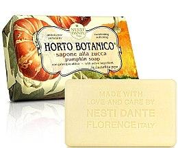 Düfte, Parfümerie und Kosmetik Naturseife mit Kürbis - Nesti Dante Horto Botanico Pumpkin Soap