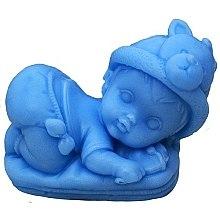 Düfte, Parfümerie und Kosmetik Handgemachte Naturseife Jesuskind auf dem Kissen hellblau - LaQ Happy Soaps