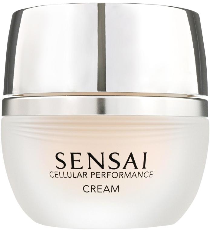 Reichhaltige und feuchtigkeitsspendende Gesichtscreme für normale, trockene und empfindliche Haut - Kanebo Sensai Cellular Performance Cream — Bild N1