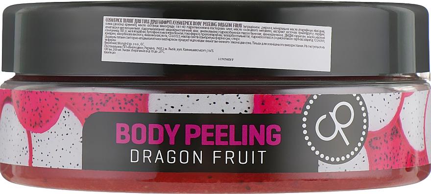 Glättendes Körperpeeling mit Pitahaya-Duft - Cosmepick Body Peeling Dragon Fruit — Bild N2