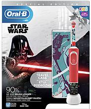Düfte, Parfümerie und Kosmetik Zahnpflegeset für Kinder - Oral-B Kids Star Wars Special Edition (Elektrische Zahnbürste 1 St. + Case 1 St.)