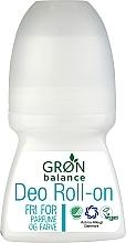 Düfte, Parfümerie und Kosmetik Deo Roll-on - Gron Balance Deo Roll-On