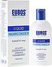 Düfte, Parfümerie und Kosmetik Flüssige Wasch-, Dusch- und Badeemulsion - Eubos Med Basic Skin Care Liquid Washing Emulsion
