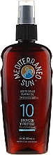 Düfte, Parfümerie und Kosmetik Bräunungsöl mit Karotte SPF 10 - Mediterraneo Sun Coconut Suntan Oil SPF10