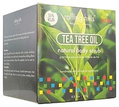Düfte, Parfümerie und Kosmetik 100% Natürliches Gesichts- und Körperpeeling mit Teebaumduft - Rolling Hills Gommage Corps Naturel