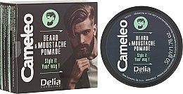 Düfte, Parfümerie und Kosmetik Bart-und Schnurrbartwachs - Delia Cameleo Men Beard and Moustache Pomade
