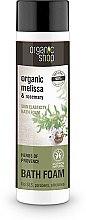 Düfte, Parfümerie und Kosmetik Anti-Stress Badesachaum mit Bio Melisse und Rosmarin - Organic Shop Organic Melissa and Rosemary Antistress Bath Foam