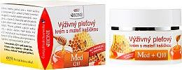 Düfte, Parfümerie und Kosmetik Nährende Gesichtscreme mit Honig und Q10 - Bione Cosmetics Honey + Q10 Cream