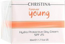 Düfte, Parfümerie und Kosmetik Feuchtigkeitsspendende Tagescreme mit Sonnenschutzeffekt - Christina Forever Young Hydra Protective Day Cream SPF25