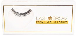 Düfte, Parfümerie und Kosmetik Künstliche Wimpern - Lash Brown Premium Silk Lashes Lashes No Lashes