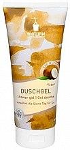 Düfte, Parfümerie und Kosmetik Duschgel für trockene und normale Haut mit Kokosduft - Bioturm Coconut Shower Gel No.74