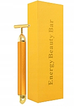 Düfte, Parfümerie und Kosmetik Pulsierendes Gesichtsmassagegerät - Deni Carte Gold Roller