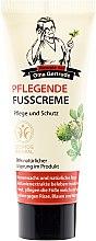 Düfte, Parfümerie und Kosmetik Pflegende Fußcreme mit Rosskastanie und Bienenwachs - Rezepte der Oma Gertrude