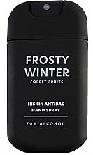 Düfte, Parfümerie und Kosmetik Antibakterielles Handspray mit Waldfrüchten - HiSkin Antibac Hand Spray Frosty Winter