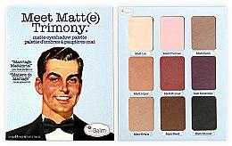 Düfte, Parfümerie und Kosmetik Lidschattenpalette - theBalm Meet Matt(e) Trimony Matte Eyeshadow Palette