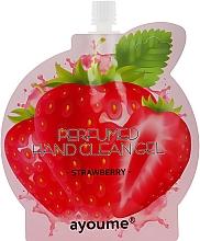 Düfte, Parfümerie und Kosmetik Parfümiertes antiseptisches Handreinigungsgel mit Erdbeerduft - Ayoume Perfumed Hand Clean Gel Strawberry