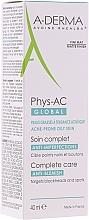 Düfte, Parfümerie und Kosmetik Mattierende Gesichtscreme gegen Hautunreinheiten für fettige und zu Akne neigende Haut - A-Derma Phys-AC Global Severe Blemish Care