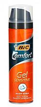 Düfte, Parfümerie und Kosmetik Rasiergel - Bic Comfort Sensitive