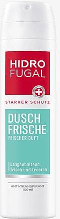 Deospray Antitranspirant mit erfrischendem Duft - Hidrofugal Shower Fresh Spray