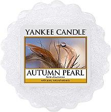 Düfte, Parfümerie und Kosmetik Duftendes Wachs - Yankee Candle Autumn Pearl Wax Melt