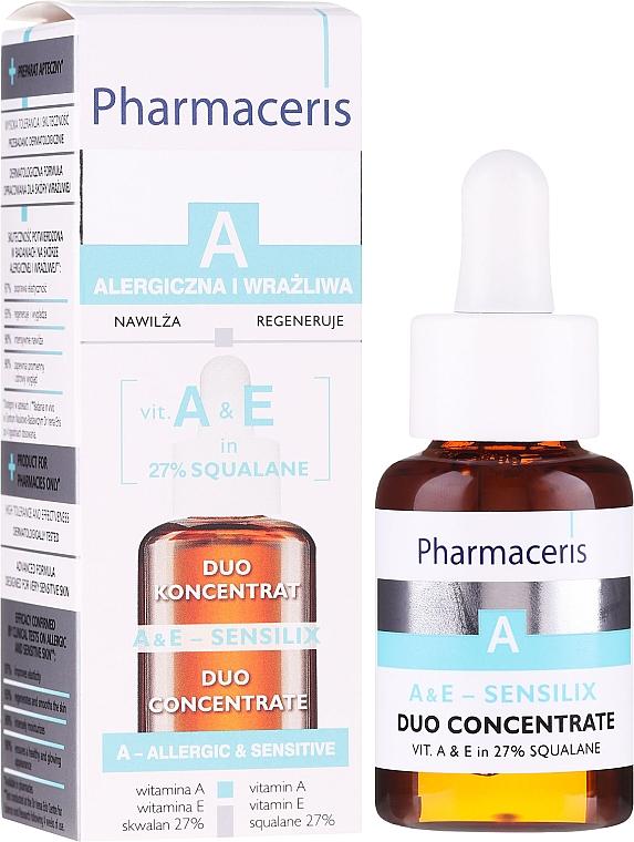 Gesichtskonzentrat mit Vitamin A und E - Pharmaceris A A&E Sensilix Duo Concentrate