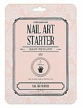 Düfte, Parfümerie und Kosmetik Regenerierende Maske für Hände und Nägel in Handschuh-Form - Kocostar Nail Art Starter