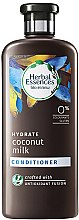 Düfte, Parfümerie und Kosmetik Pflegende Haarspülung mit Kokosmilch - Herbal Essences Coconut Milk Conditioner